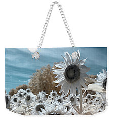 Sunflower Infrared  Weekender Tote Bag