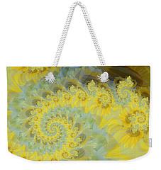 Sunflower Infused Weekender Tote Bag