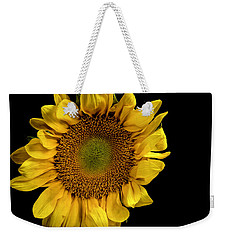 Weekender Tote Bag featuring the photograph Sunflower by James Sage