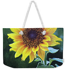 Sunflower Weekender Tote Bag by Janet King