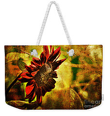 Sunflower Weekender Tote Bag by Lois Bryan