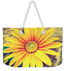 Weekender Tote Bag featuring the photograph Sunflower by Lucia Sirna