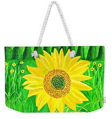 Sunflower  Weekender Tote Bag by Magdalena Frohnsdorff