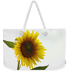Sunflower Minimal Weekender Tote Bag by Joseph Skompski