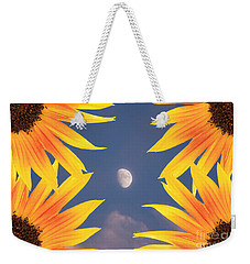 Sunflower Moon Weekender Tote Bag