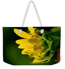 Sunflower Morning Weekender Tote Bag