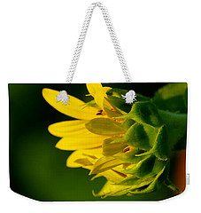Sunflower Morning Weekender Tote Bag