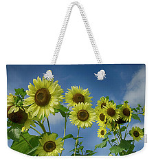 Sunflower Party Weekender Tote Bag
