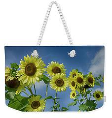 Sunflower Party Weekender Tote Bag