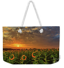 Sunflower Peak Weekender Tote Bag