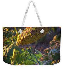 Sunflower Repose Weekender Tote Bag