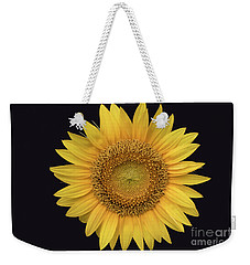 Weekender Tote Bag featuring the photograph Sunflower by Ron Sadlier