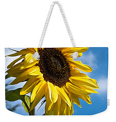 Sunflower Weekender Tote Bag by Scott Carruthers