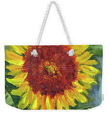 Sunflower Seed Packet Weekender Tote Bag