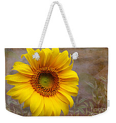 Sunflower Serenade Weekender Tote Bag by Nina Silver
