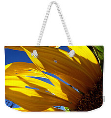 Sunflower Shadows Weekender Tote Bag