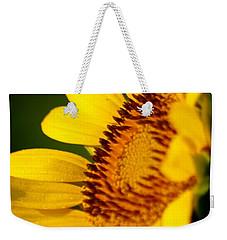 Sunflower Side Light Weekender Tote Bag