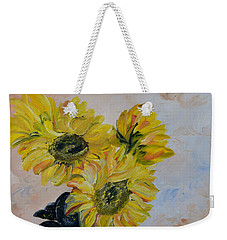 Sunflower Still Life Weekender Tote Bag