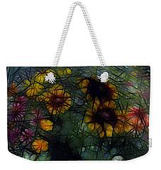 Sunflower Streaks Weekender Tote Bag