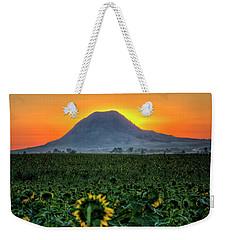 Sunflower Sunrise Weekender Tote Bag