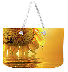 Sunflower Sunset Weekender Tote Bag by David French