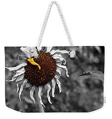 Sunflower- The End Of Summer Weekender Tote Bag