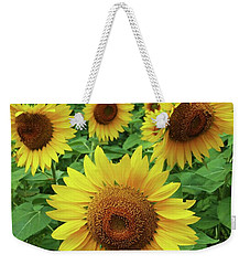 Sunflower Time Weekender Tote Bag
