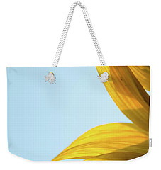 Weekender Tote Bag featuring the photograph Sunflowers 11 by Andrea Anderegg