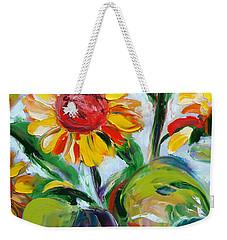 Sunflowers 9 Weekender Tote Bag