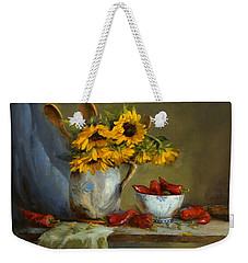 Sunflowers And Paprika Weekender Tote Bag