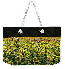 Sunflowers Everywhere Weekender Tote Bag