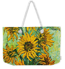 Sunflowers For This Summer Weekender Tote Bag