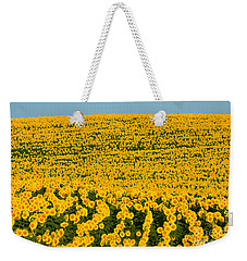 Sunflowers Galore Weekender Tote Bag by Catherine Sherman