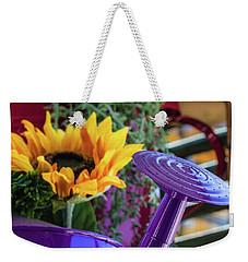 Complementary Sunflowers Weekender Tote Bag