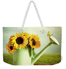 Sunflowers In A Watering Can Weekender Tote Bag
