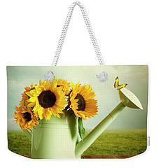 Sunflowers In A Watering Can Weekender Tote Bag