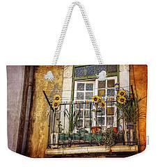 Sunflowers In The City Weekender Tote Bag