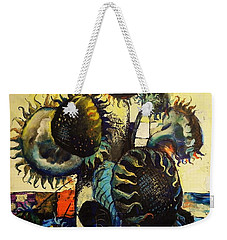 Sunflowers Weekender Tote Bag by Mikhail Zarovny