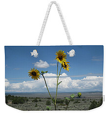Sunflowers On The Gorge Weekender Tote Bag