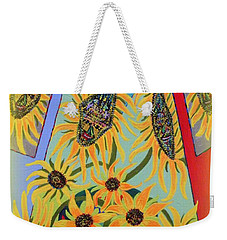 Sunflowers Rhapsody Weekender Tote Bag