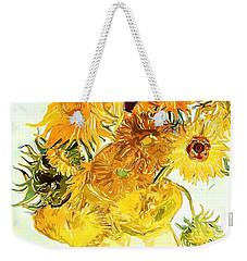 Sunflowers Van Gogh Weekender Tote Bag