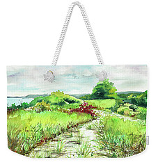 Sunken Meadow, September Weekender Tote Bag