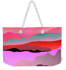 Sunland 3 Weekender Tote Bag by Mary Armstrong