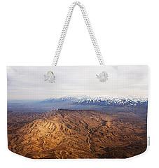 Sunlight And Snow-capped Peaks Weekender Tote Bag