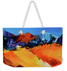 Sunlight In The Valley Weekender Tote Bag