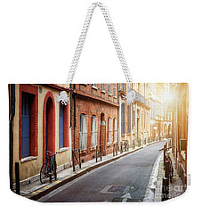 Weekender Tote Bag featuring the photograph Sunlight In Toulouse by Elena Elisseeva