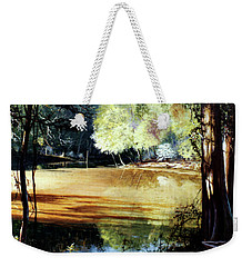 Sunlight On Village Creek Weekender Tote Bag