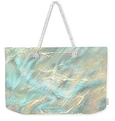 Weekender Tote Bag featuring the digital art Sunlight On Water by Amyla Silverflame