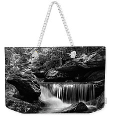 Sunlight On Waterfall Weekender Tote Bag