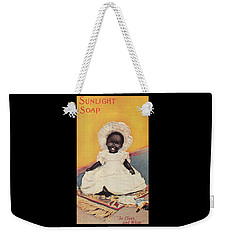 Weekender Tote Bag featuring the digital art Sunlight Soap So Clean And White by ReInVintaged